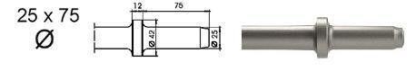 chisel 25 flat 25mm