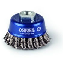 cup brush pro knotted stainless steel wire 050 65mm