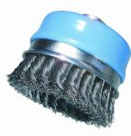 Cup brush PRO, knotted wire (0,50), 80mm
