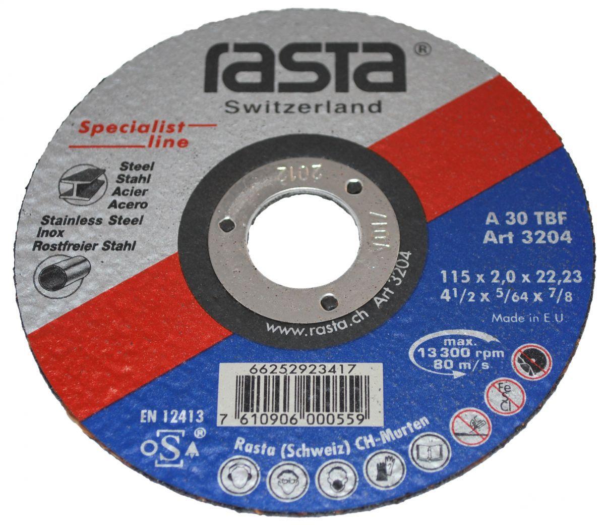 cuttingoff disc 115x2x22