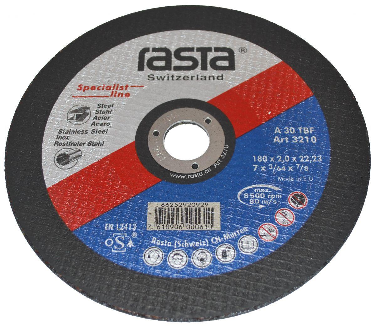 cuttingoff disc 180x2x22