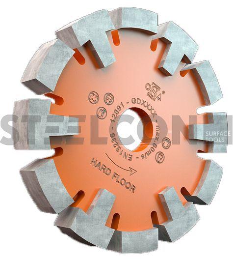 diamantblad 120mm vloerverwarmingsfrees