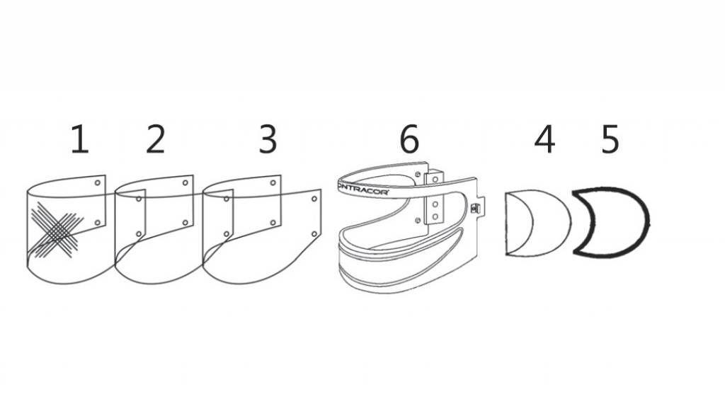 disposable spatter lenses 30pcs