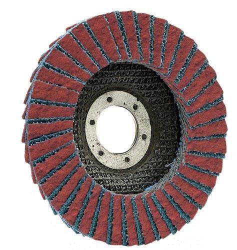 flap disc con 125x22 grit 40