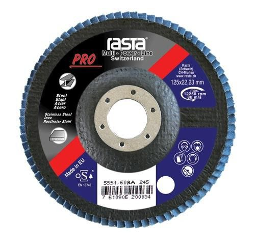 flap disc con 125x22 grit 60