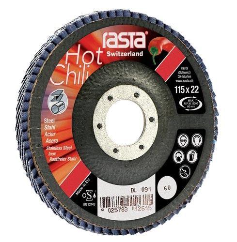 flap disc con 125x22 korrel 40
