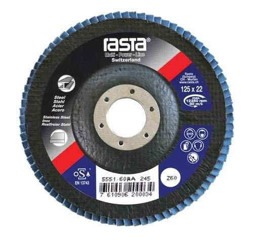 flap disc flat 125x22 grit 80