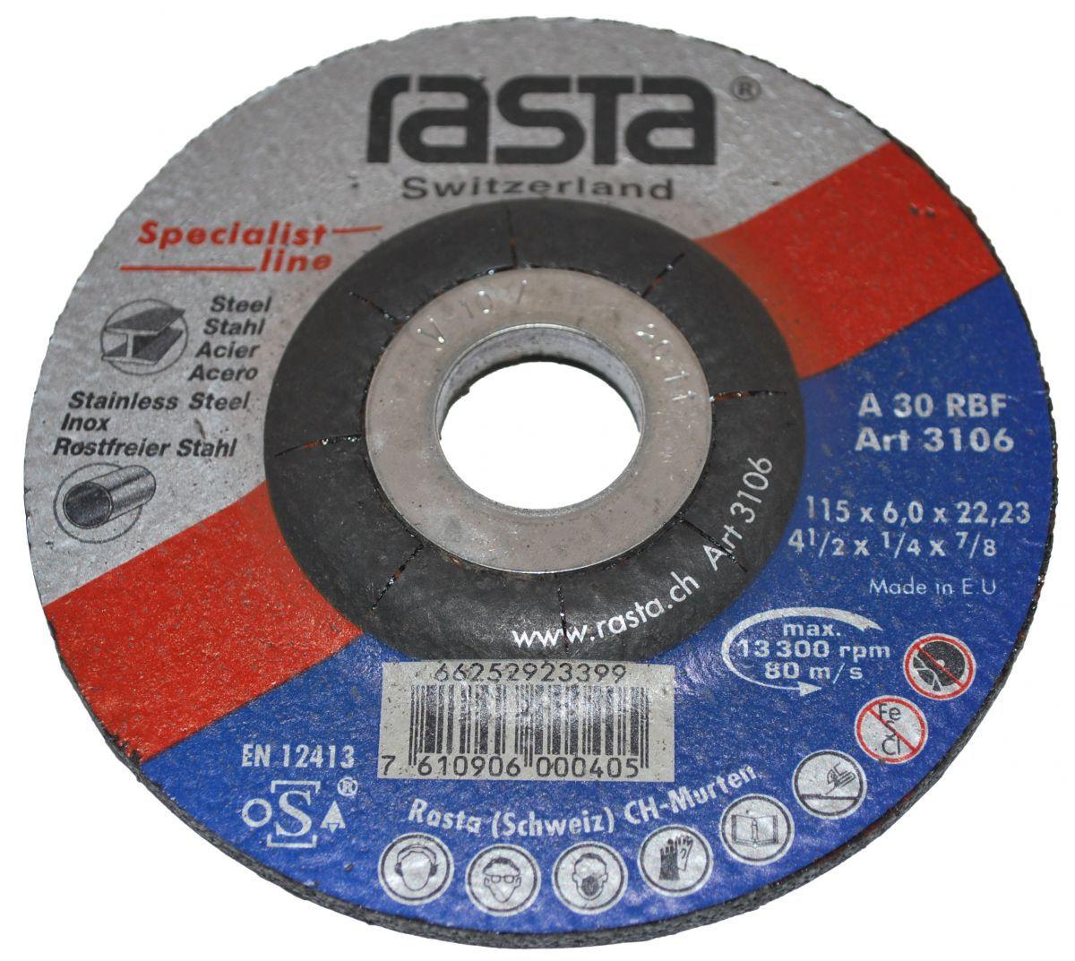 grinding wheel 115x6x22
