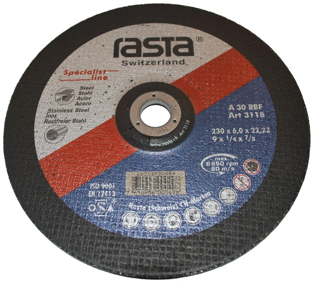 grinding wheel 230x6x22
