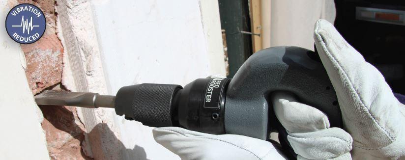 hammer vibration damped
