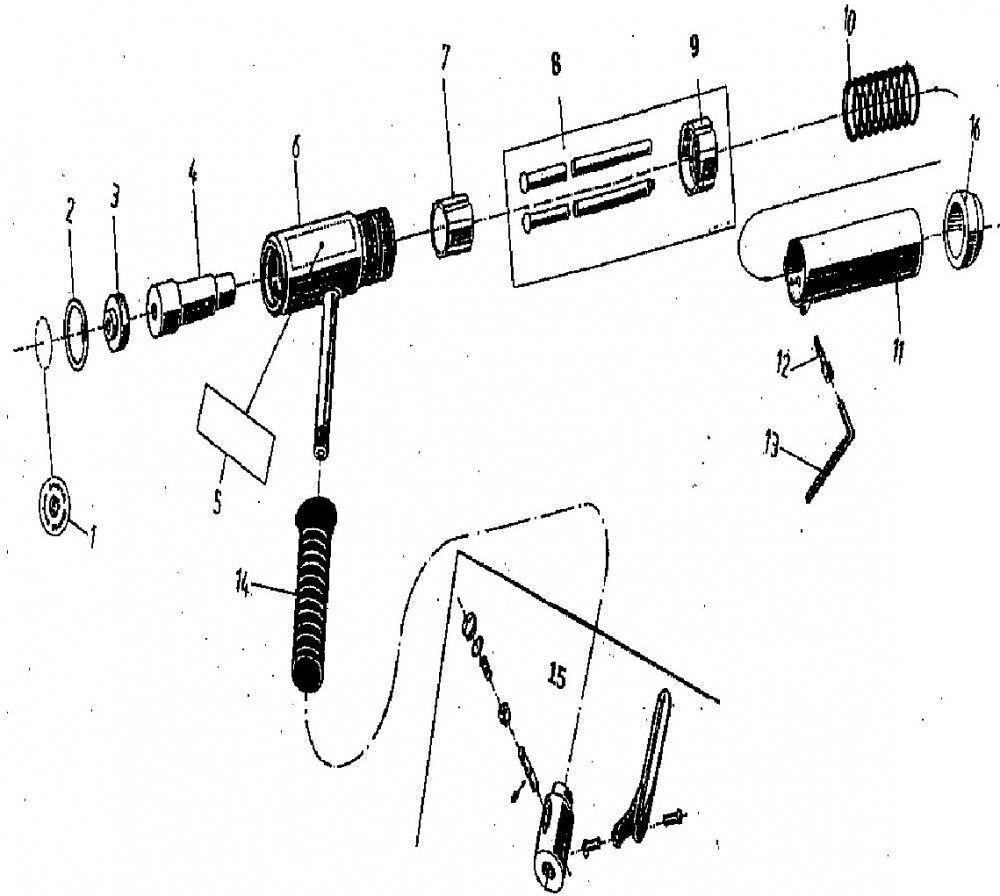 von arx 23 serie naaldenhouder 3mm standaard