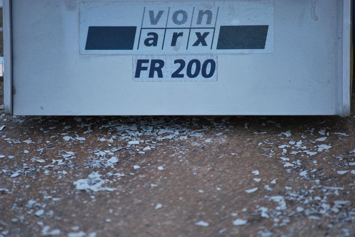 von arx fr200 scarifier 400v