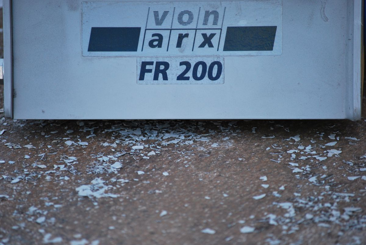 von arx fr200 scarifier petrol