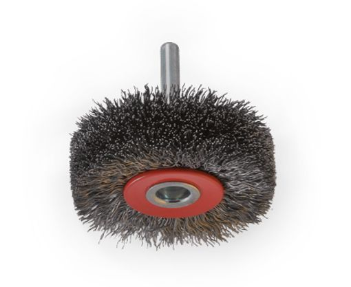 wheel brush 23mm crimped wire 030 60mm