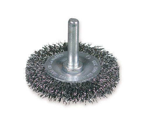 wheel brush crimped wire 030 75mm